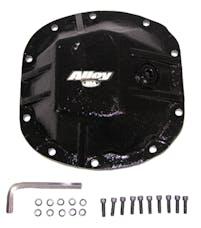 Alloy USA 11206 Door Hinge Cover Kit, Black; 07-17 Jeep Wrangler JKU