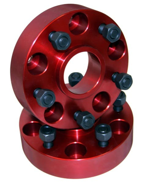 Alloy USA 11302 Wheel Spacers, 5x5.5; 41-86 Willys/Jeep Models
