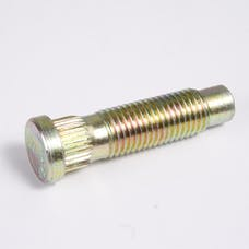 Alloy USA 99STUD5 Wheel Stud, 12mm x 1.5 Thread with .509 Knurl Diameter, Universal