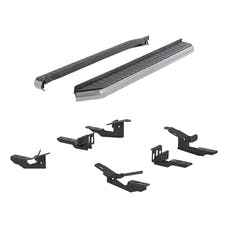 "ARIES 2051003 5"" AeroTread Running Board with Brackets, Polished Stainless"