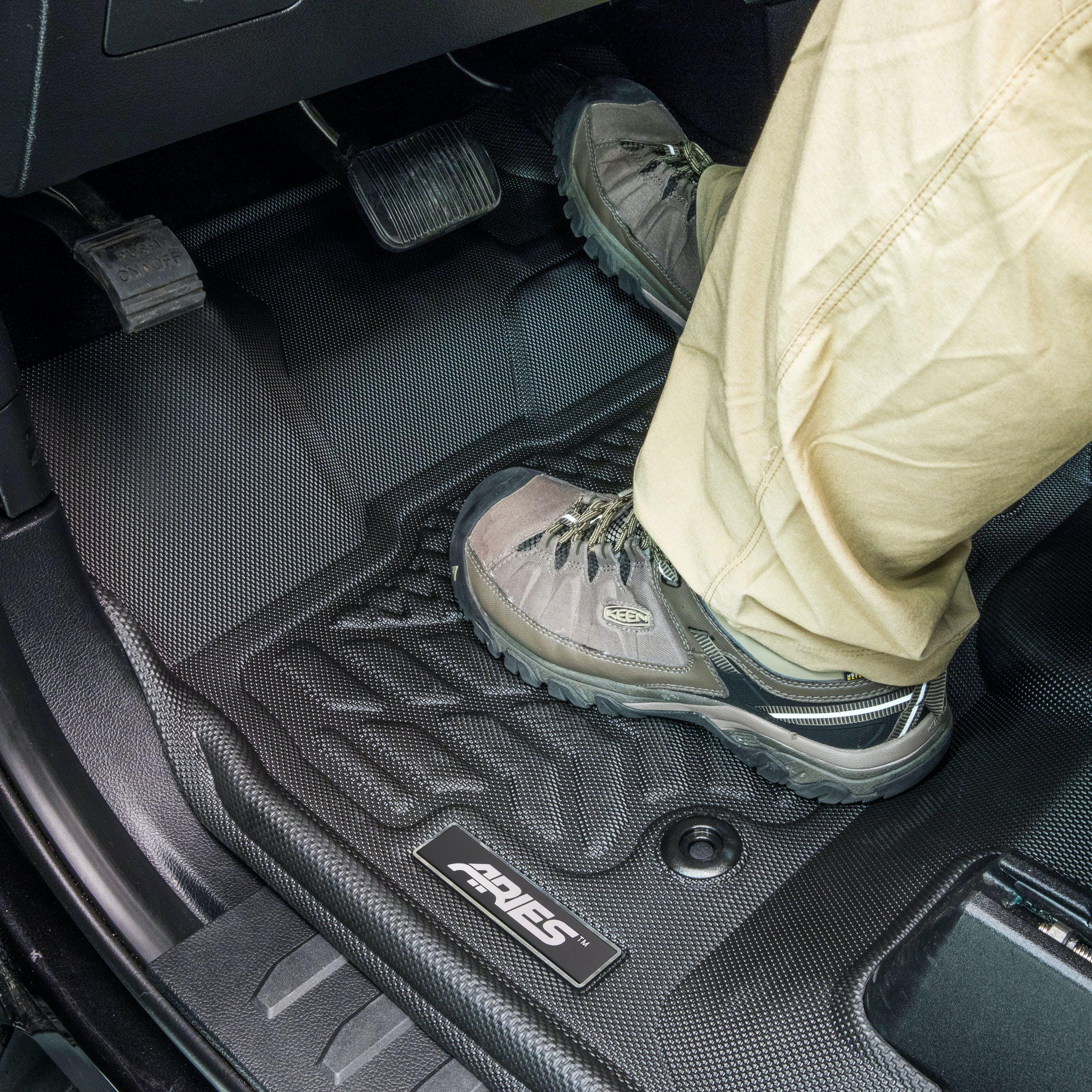 1st Row Only ARIES MZ03811809 StyleGuard XD Black Custom Truck Floor Liners for Mazda CX-5