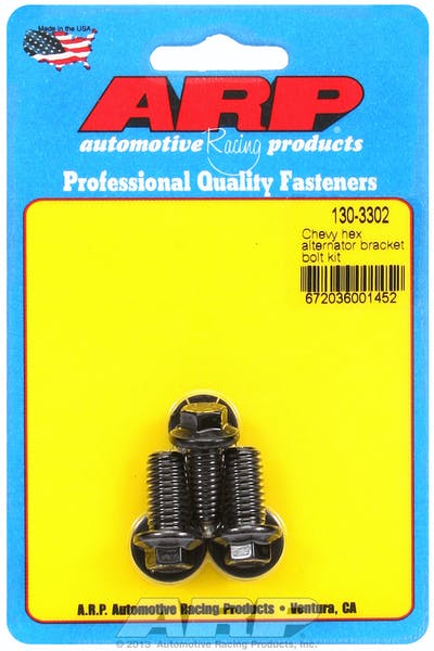 ARP 130-3302 Alternator Bracket Bolt Kit