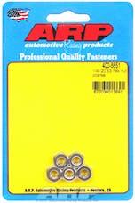 ARP 400-8651 1/4-20 SS coarse hex nut kit