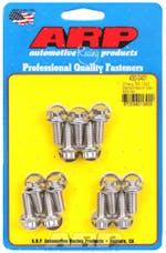 ARP 430-0401 Stainless Steel 12pt transmission pan bolt kit