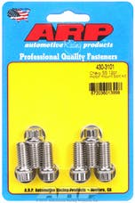 ARP 430-3101 Stainless Steel 12pt motor mount bolt kit