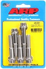 ARP 430-3201 Stainless Steel 12pt water pump bolt kit