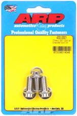 ARP 430-3301 Stainless Steel 12pt alternator bracket bolt kit
