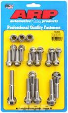 ARP 430-9803 Stainless Steel hex trans case bolt kit