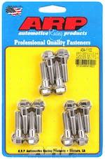 ARP 434-1102 3/8 flange Stainless Steel hex header bolt kit