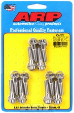 ARP 434-1202 3/8 flange Stainless Steel 12pt header bolt kit
