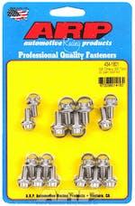 ARP 434-1801 Stainless Steel 12pt oil pan bolt kit
