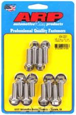 ARP 434-2001 Stainless Steel hex intake manifold bolt kit