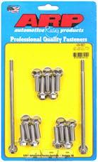 ARP 434-6901 Stainless Steel hex oil pan bolt kit