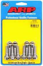 ARP 434-8001 Stainless Steel hex valley cover bolt kit