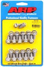 ARP 435-1801 Stainless Steel 12pt oil pan bolt kit