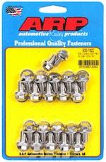 ARP 435-1802 Stainless Steel hex oil pan bolt kit