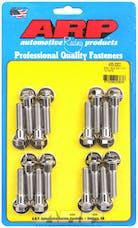 ARP 435-2002 502 Stainless Steel hex intake manifold bolt kit