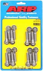 ARP 435-2102 502 Stainless Steel 12pt intake manifold bolt kit