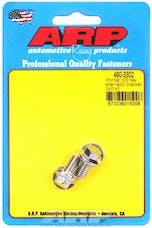 ARP 490-3302 Stainless Steel hex alternator bracket bolt kit