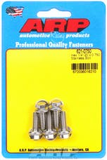 ARP 621-0750 1/4-20 x 0.750 hex SS bolts