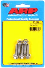 ARP 621-1000 1/4-20 x 1.000 hex SS bolts