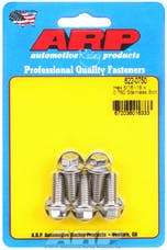 ARP 622-0750 5/16-18 x 0.750 hex SS bolts