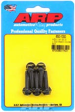 ARP 650-1000 1/4-20 X 1.000 hex black oxide bolts