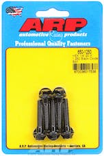 ARP 650-1250 1/4-20 X 1.250 hex black oxide bolts