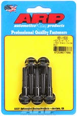 ARP 651-1500 5/16-18 X 1.500 hex black oxide bolts