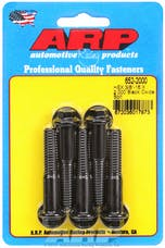 ARP 652-2000 3/8-16 X 2.000 hex black oxide bolts