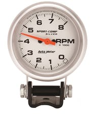 AutoMeter Products 3707 Gauge; Tachometer; 2 5/8in.; 8k RPM; Pedestal; Ultra-Lite