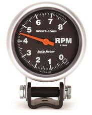 AutoMeter Products 3708 Tach Mini Competition 8000 Rpm