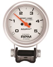 AutoMeter Products 3788 Diesel Tach  5000 RPM