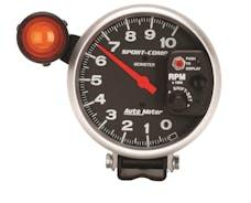 AutoMeter Products 3904 Gauge; Tachometer; 5in.; 10k RPM; Pedestal w/ext. Shift-Lite; Sport-Comp