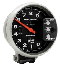 AutoMeter Products 3966 Tach Playback  9 000 Rpm