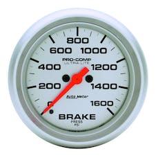 AutoMeter Products 4467 Gauge; Brake Press; 2 5/8in.; 1600psi; Digital Stepper Motor; Ultra-Lite
