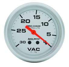 AutoMeter Products 4484 Vacuum  30 In. Hg