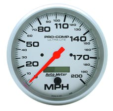 AutoMeter Products 4490 Speedo  200 MPH  LCD