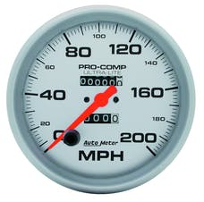 AutoMeter Products 4496 Speedo  200 MPH
