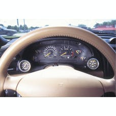 AutoMeter Products 10003 Mounting Solutions Dual Instrument Cluster Bezel