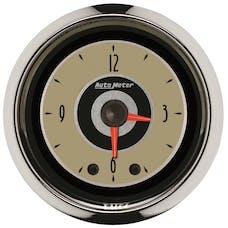 "AutoMeter Products 1185 2"" CLOCK, Illuminated, Analog, Cruiser AD"