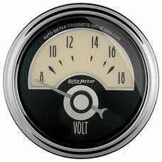 "AutoMeter Products 1191 2-1/16"" VOLTMETER, 8-18V, SSE, Cruiser AD"