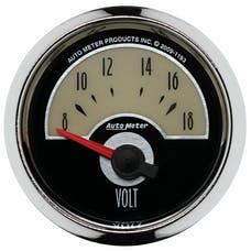 "AutoMeter Products 1193 2-1/16"" Voltmeter, 8-18 SSE"