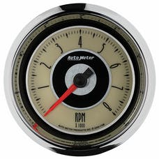 """AutoMeter Products 1196 3-3/8"""" Tachometer, 8000 RPM, Cruiser"""