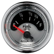 AutoMeter Products 1215 American Muscle Series Fuel Level Gauge (73-10 Ω, 2-1/16 in.)
