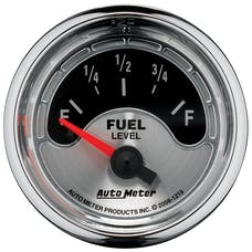 AutoMeter Products 1218 Gauge Fuel Level; American Muscle