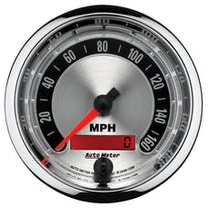 AutoMeter Products 1288 GAUGE; SPEEDOMETER; 3 3/8in.; 160MPH; ELEC. PROGRAMMABLE; AMERICAN MUSCLE