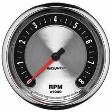 """AutoMeter Products 1299 5"""" Tach, 10,000 RPM, In-Dash, American  Muscle"""