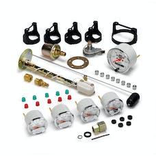 AutoMeter Products 1302-00408 Arctic White 5 Pc Kit Box W/Elec Speedo, GM