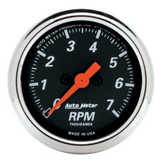 AutoMeter Products 1477 2-1/16in Tach  7000 RPM, DB Chrome Bzl
